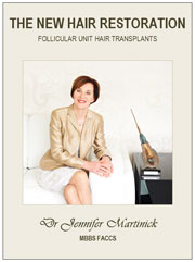 Free copy of 'The New Hair Restoration' by Dr Jennifer Martinick